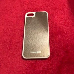 Accessories - Mirrored looking good hard IPhone 5 case